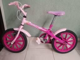 Bicicleta da Caloi edição da barbie