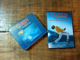 DVD e CD - Queen Collection