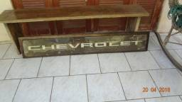 Placa Antiga Chevrolet