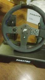 Bundle Volante Fanatec Csl Elite Ps4/pc + Pedal Csl Elite