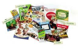 Panfletos a partir de R$: 55,00 - 1000 uni