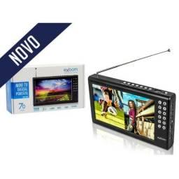 Mini Tv Digital Portatil 7'' USB - nova