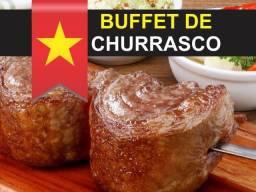 Buffet de Churrasco - Serviço Completo - Churrasqueiro Profissional