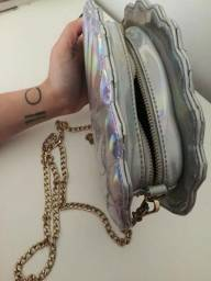 Bolsa de concha holográfica