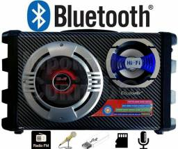 Caixa Amplificada Bluetooth microfone alta