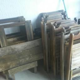Messas de madeira