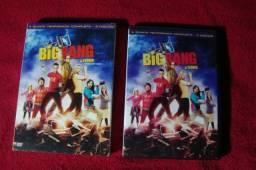 Box Big Bang A Teoria - Quinta Temporada Completa - 3 Dvds - Ótimo Estado
