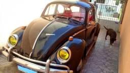 Fusca preto Cadillac, ano 1969 - raridade restaurada!!!!