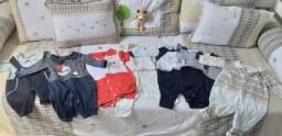 Lote de Roupas e sapatos para bebê ( preferência sexo masculino)