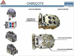 Cabeçote usado mwm maxxforce euro v volvo agrale volare international