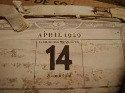 Calendarios antigos