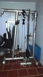 Estação de musculação profissional power fitness