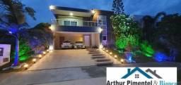 Casa de Alto Luxo 4 Suítes Alphaville Litoral Norte 1