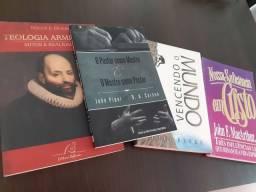 Livros espiritualidade teologia  (20,00 cada)