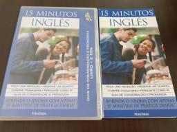 Livro e cd 15 minutos inglês