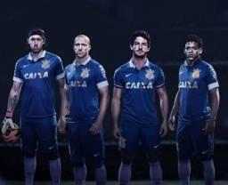 Camisa Nike Corinthians III 13/14 s/nº - Azul Royal