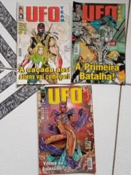 Mini-série Nacional Ufo Team 1 A 3 Editora Trama