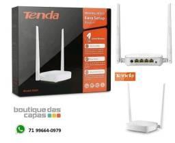 Roteador Tenda N301 300mbps Wireless C/ 2 Antenas 5 Dbi