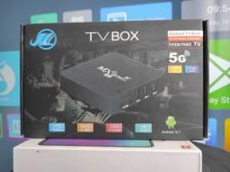 """Tv box MXQ Pro 5G"""" Qualidade 4k! Até 350 Canais"""