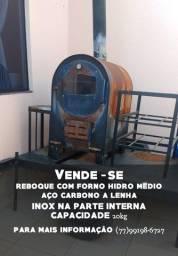 Forno Hidro Médio Aço Carbono a Lenha