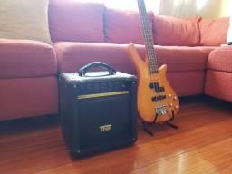 Contrabaixo Stringberg + Amplificador