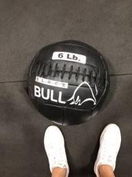 Wall ball 6 libras treino em casa funcional