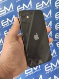 Promoção iPhone 11 64GB Preto- Seminovo - aceito seu iphone usado como entrada