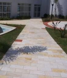 Pedra São Tomé Amarela Mesclado Promoção DoMeuGosto Pisos e Revestimentos