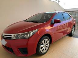 Toyota Corolla 1.8 GLi flex Aut. vermelho 2017 única dono