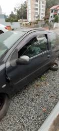 Porta lado esquerdo Peugeot 2 porta 206 207