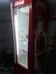 geladeira expositora  da coca cola 220w