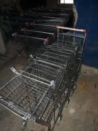 Carrinhos para supermercado e mercearia