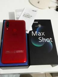 Título do anúncio: Zenfone max shot 64gb e 4gb de ram
