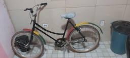 Bicicleta Sissi antiga