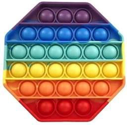 Título do anúncio: Pop It Fidget Toy Brinquedo Silicone Anti Stress Estourar Bolha Sensorial-Temos Motoboy