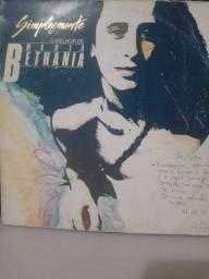 Disco de Vinil Duplo- Simplesmente o Melhor de Maria Betânia - Conservado