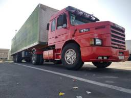 Título do anúncio: Scania 113 top line e carreta Randon