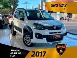Fiat uno way 2017 1.3 único dono impecável