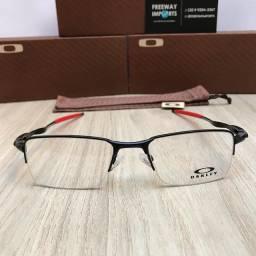 Óculos Oakley M5 Red armação de alumínio resistente