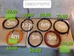 Cabos P10/P10