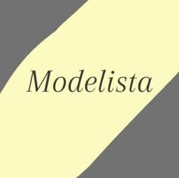 Modelista ( traçando seu molde)