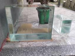 Vendo aquario novo 50 litros!