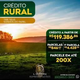 Título do anúncio: Liberaçã de Crédito Rural