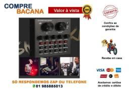 Título do anúncio: Mesa De Som Placa De Som Smart Multipurpose V8 Live