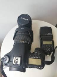 Kit Câmera Dslr Canon EOS 7D e acessórios