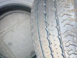 Título do anúncio: 1-pneu 195/65/16 Pirelli cromo carga