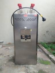 Fritadeira industrial elétrica Marchesoni 18L prata 110V