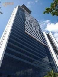 Apartamento com 1 dormitório para alugar, 33 m² por R$ 2.600,00/mês - Boa Viagem - Recife/