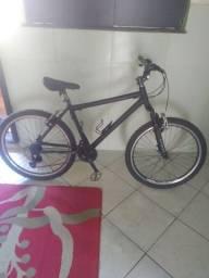 vendo ou troco por celular bike   de alumínio aro 26