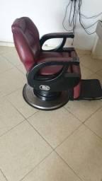 Cadeira de barbeiro ou para salao